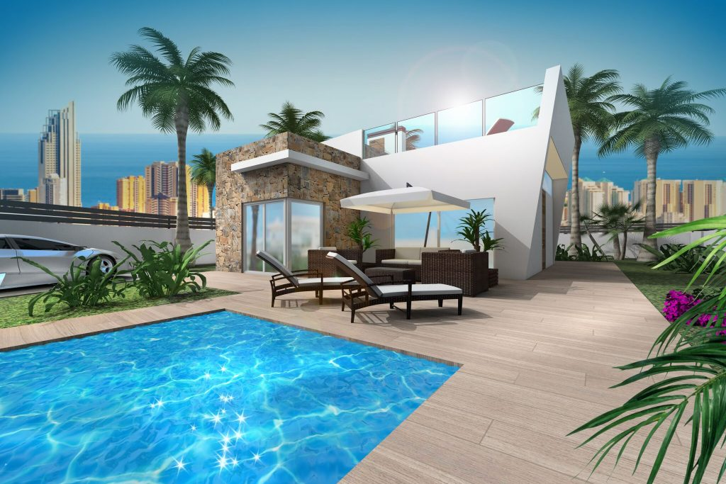 New Build Villas for sale in Benidorm