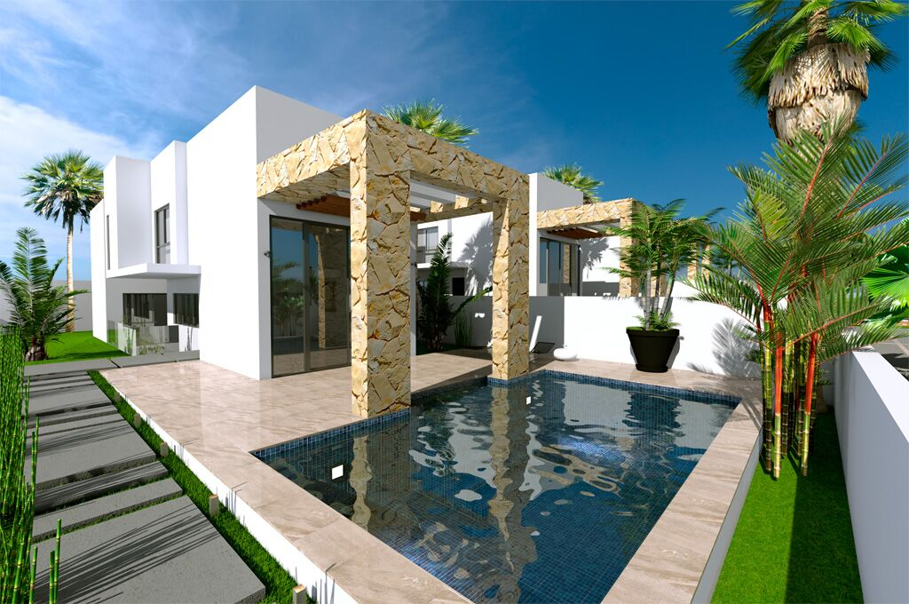 New Build Villas for sale in Torre del Moro, Torrevieja