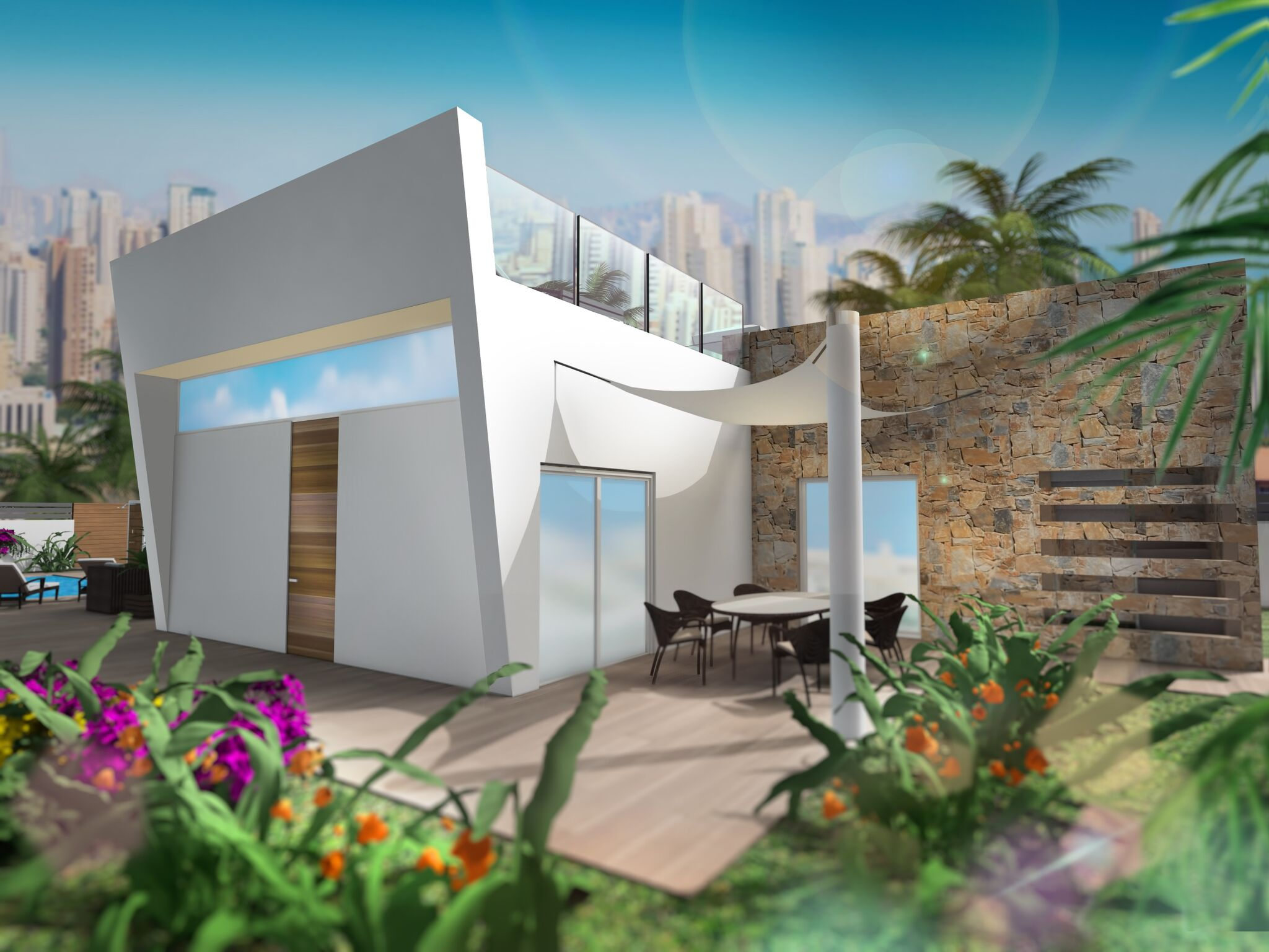 New Build Villas for sale in Benidorm
