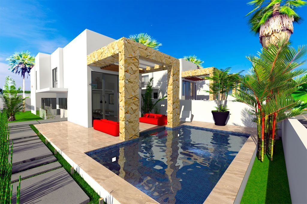 New Build Villas for sale in Torre del Moro