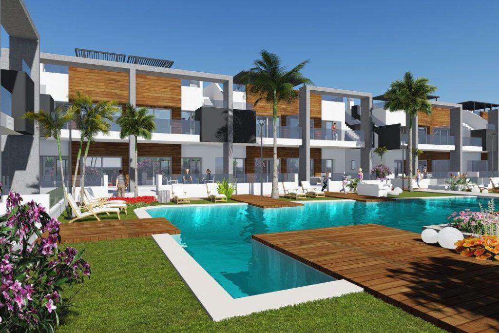 Nuevos bungalows en venta en El Raso