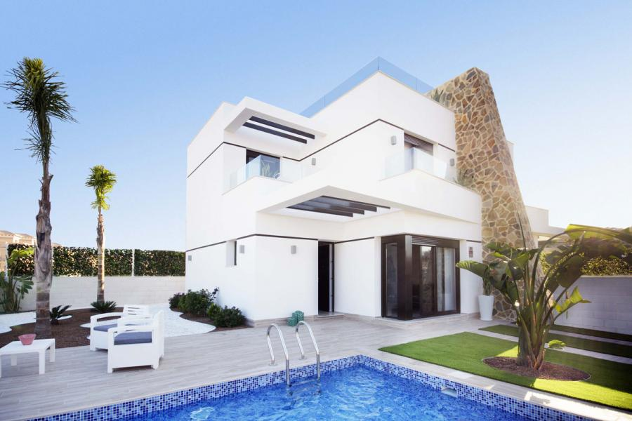 Semi-detached villas for sale in Orihuela Costa