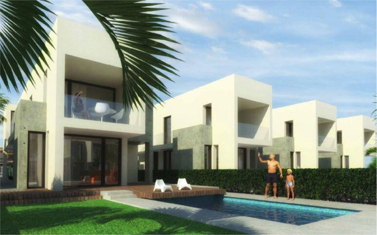 New detached villas for sale in La Marina, Alicante