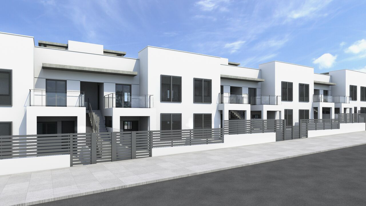 Down and upstairs bungalows for sale in Aguas Nuevas, Torrevieja
