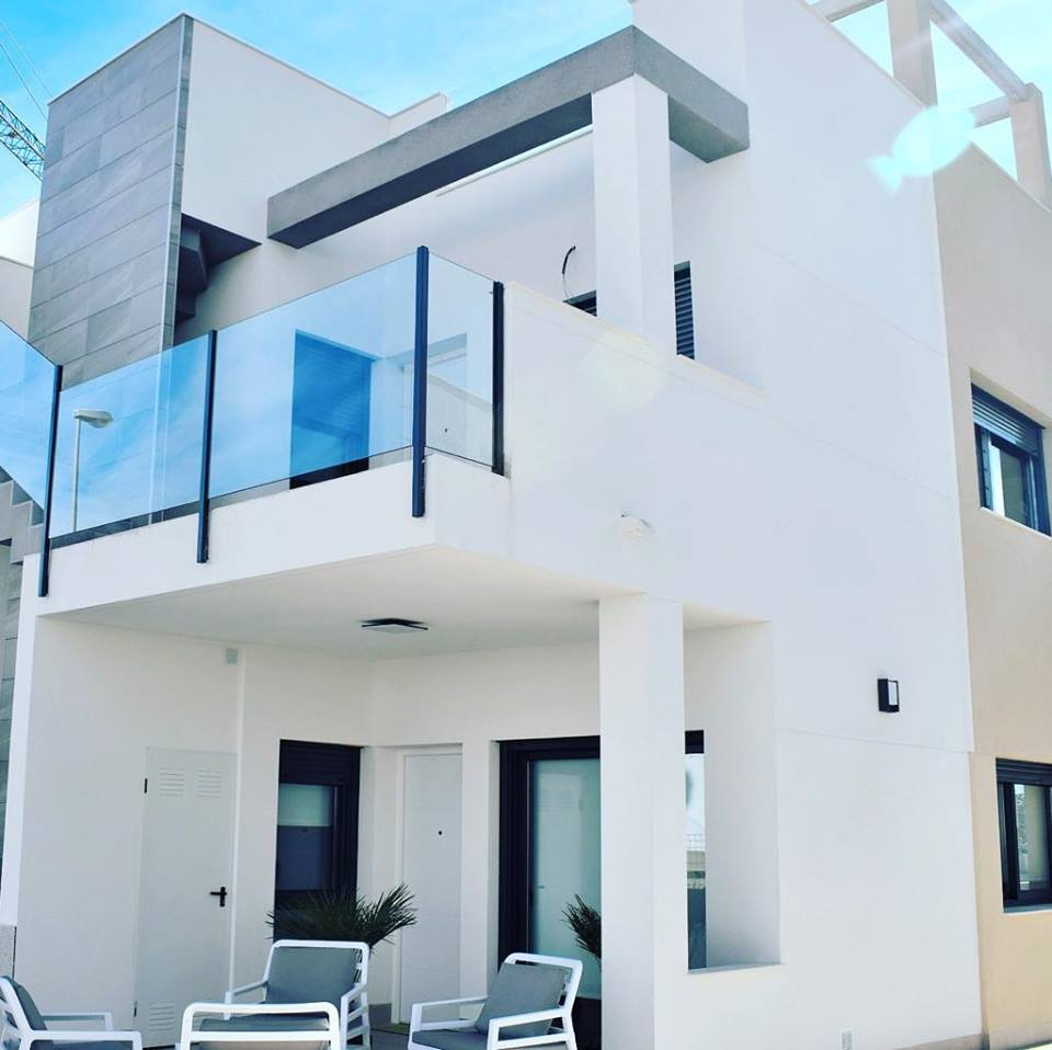 New building houses in Punta Prima, Orihuela Costa