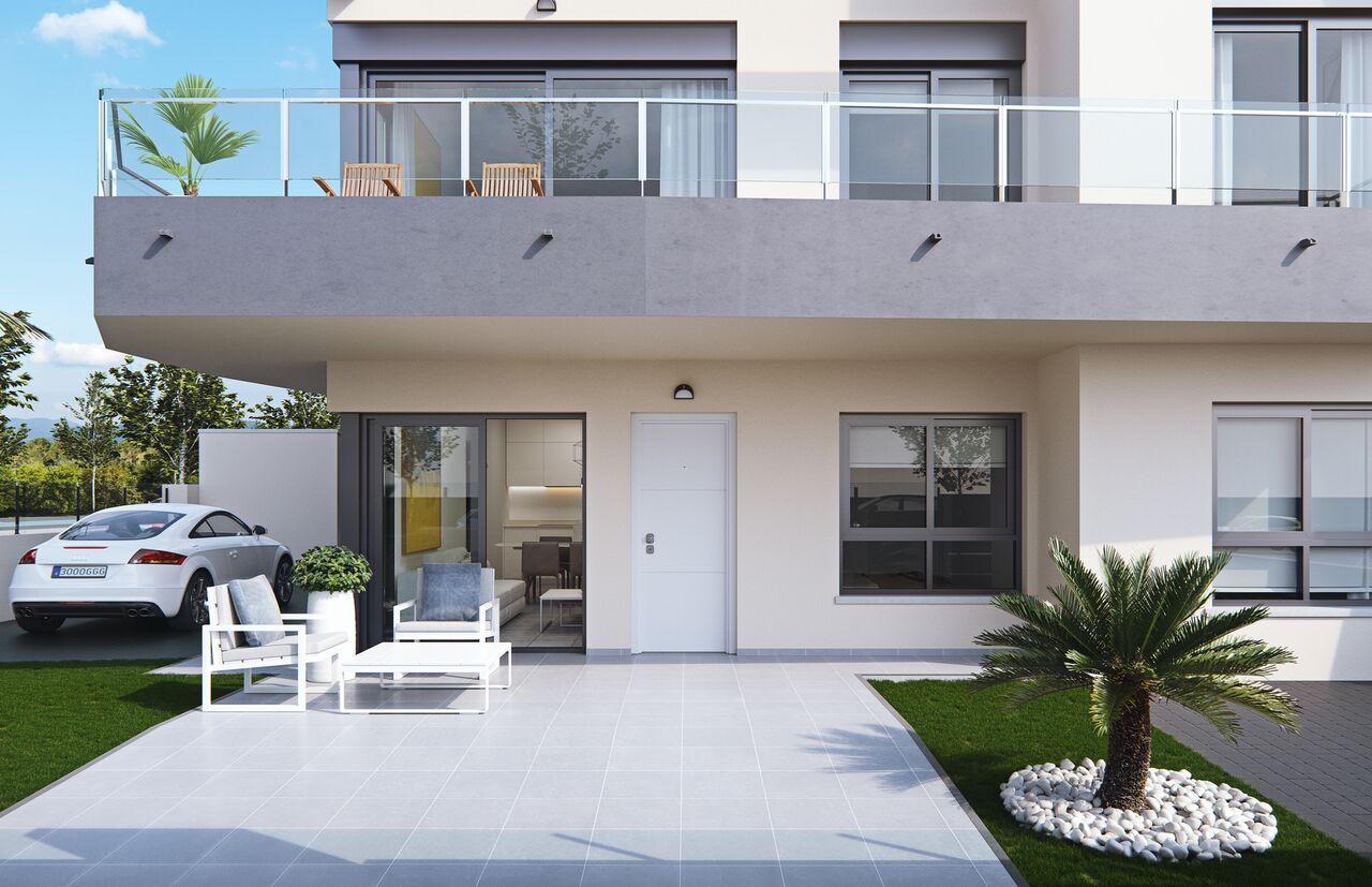 New build bungalows in Mil Palmeras, Orihuela Costa
