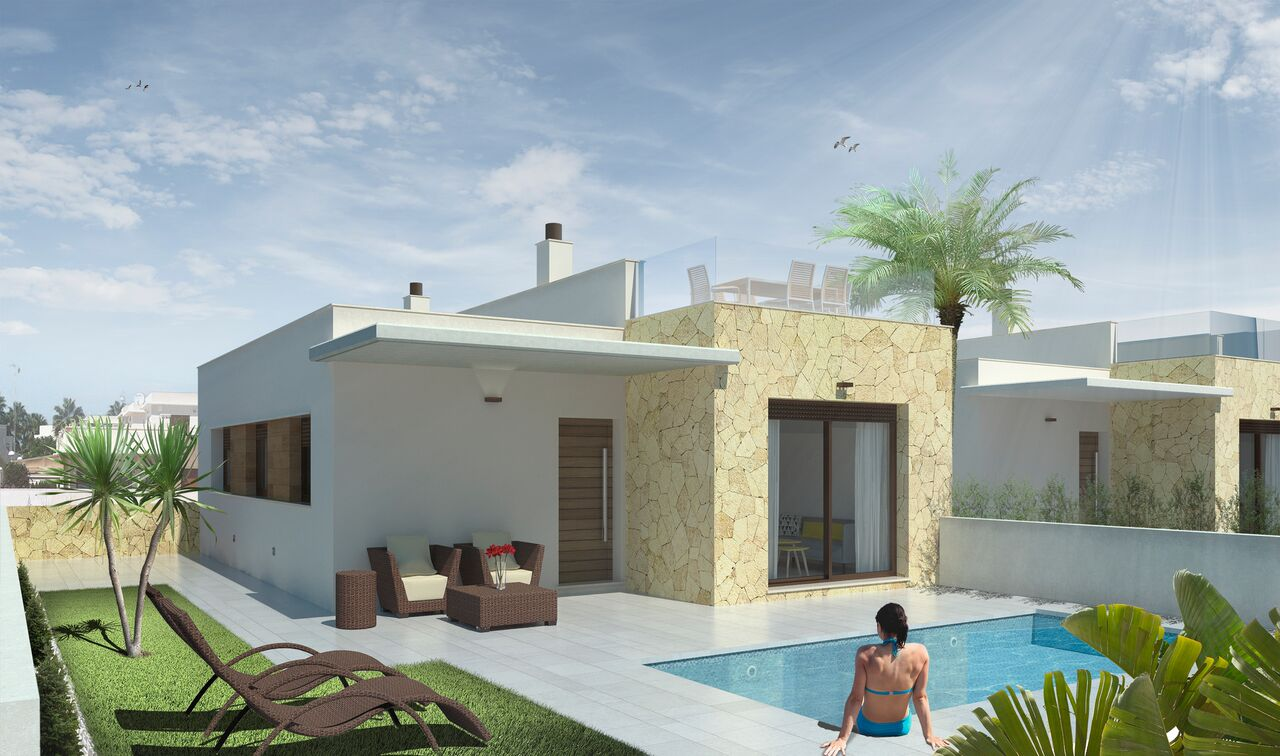 Villas with pool for sale in Rojales, Alicante, Spain