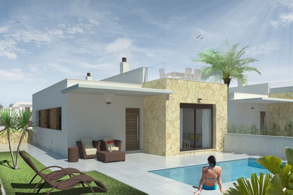 Villas with pool for sale