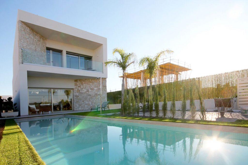 Mediterranean style villas