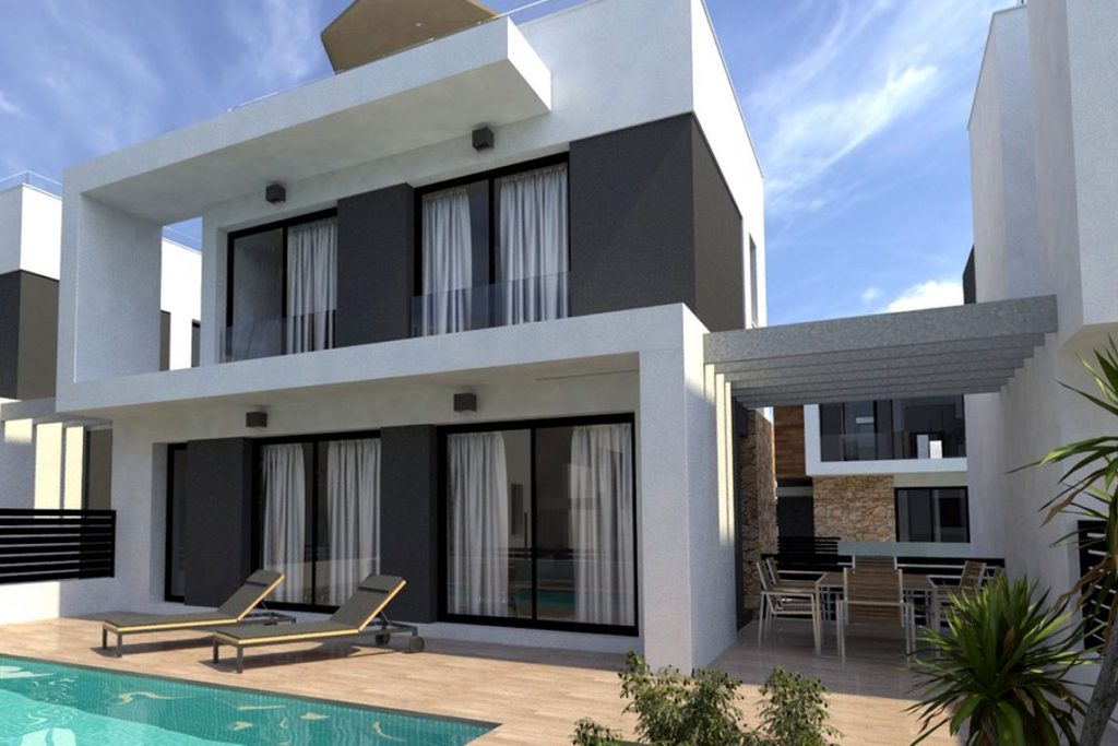New villas for sale on the south coast of Spain