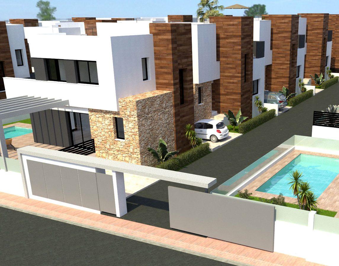Новые виллы для продажи на южном побережье Испании, Cabo Roig