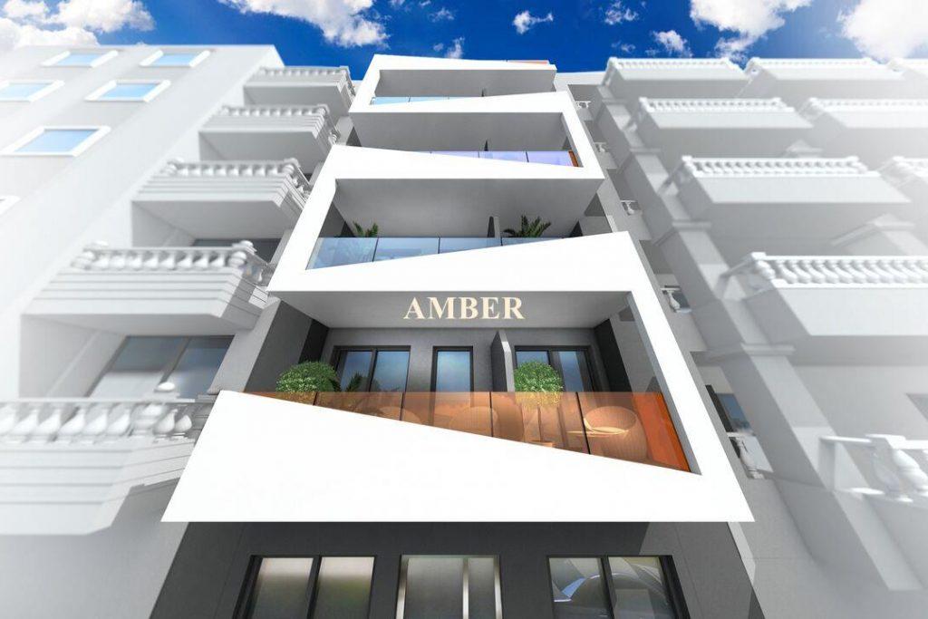 Modern new apartments near the beach
