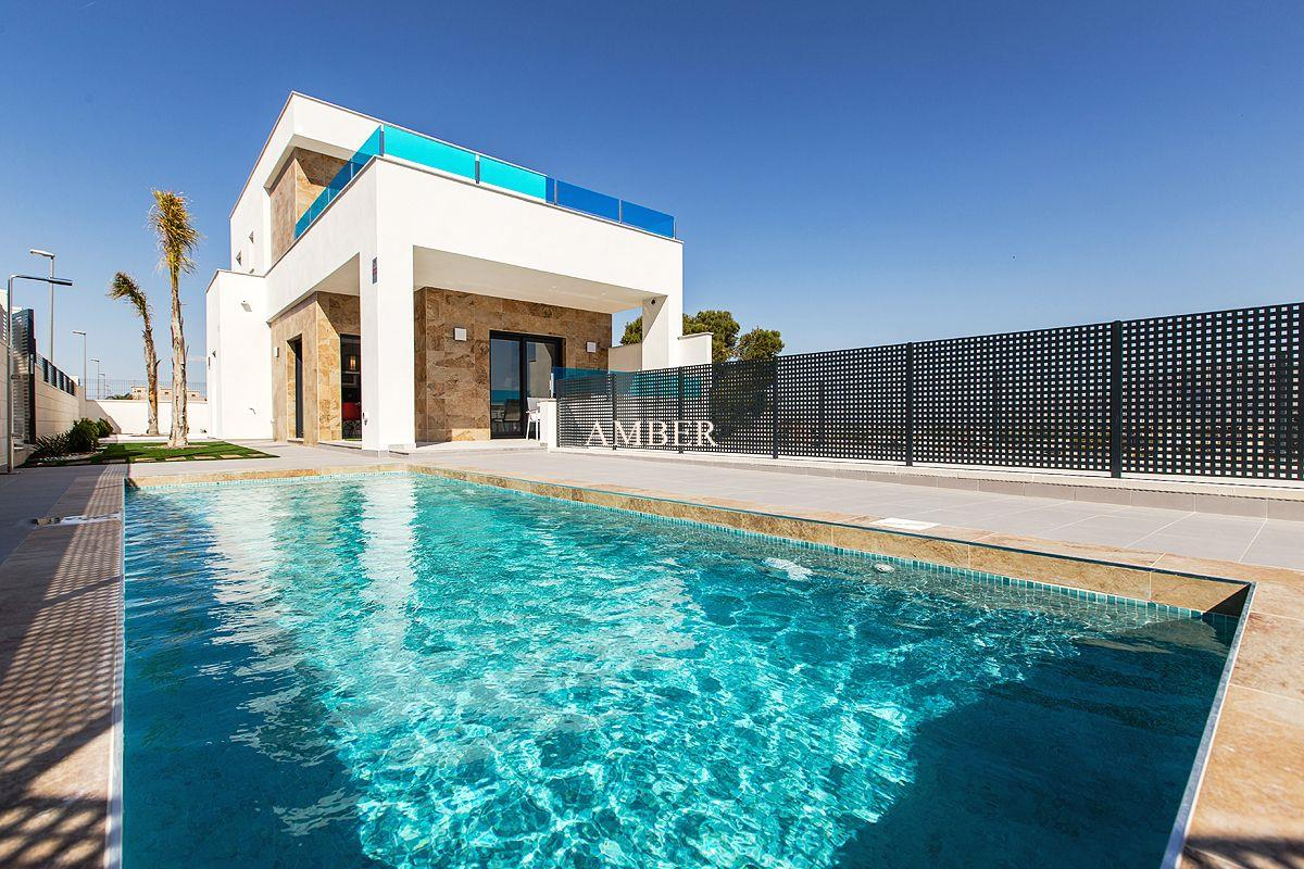 Independent villas with private pool, Benijofar