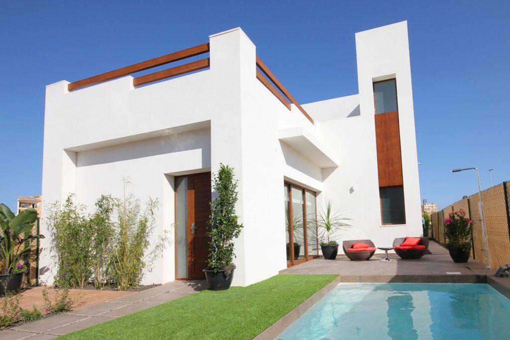 New Villas with private pool for sale in Benijofar