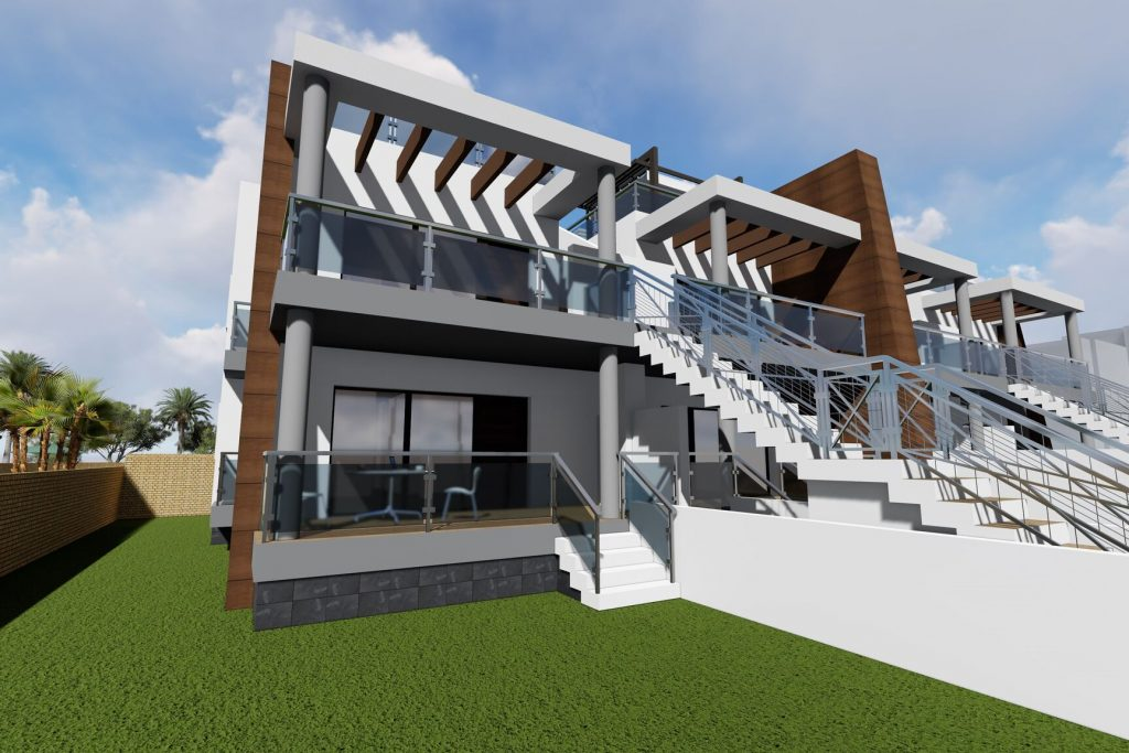 New bungalows for sale in Orihuela Costa, Spain