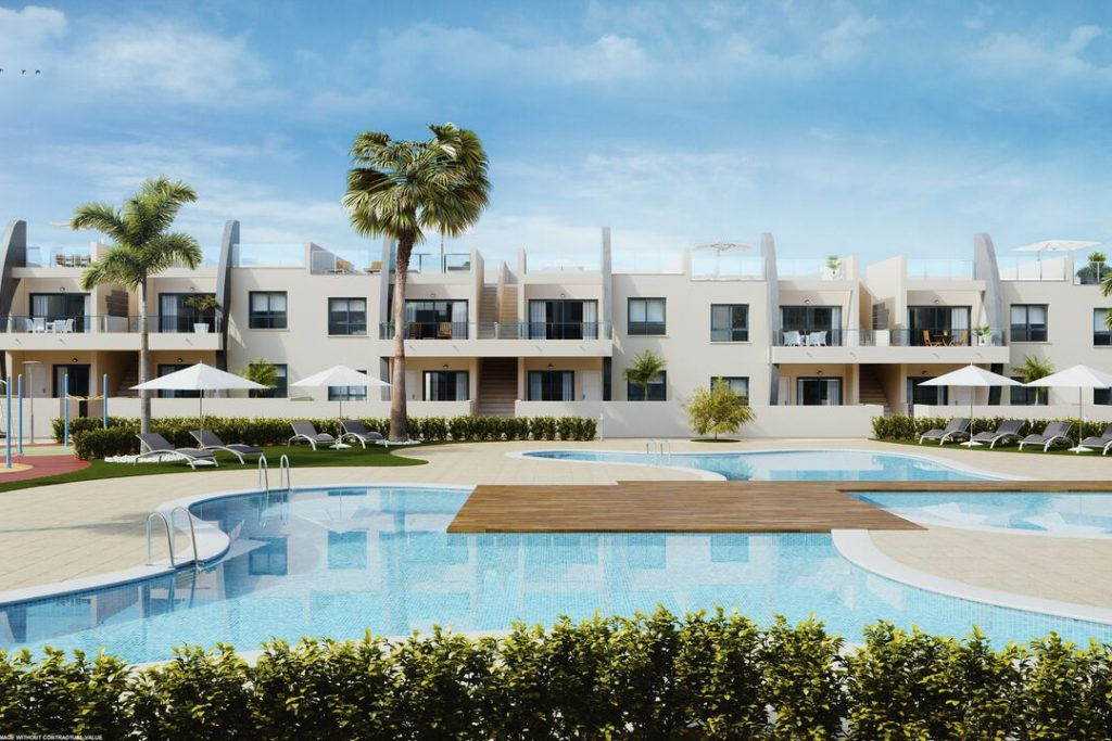 New build apartments in Mil Palmeras