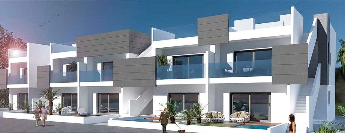 Компактные новые апартаменты с прекрасным видом в Лос-Бальконе