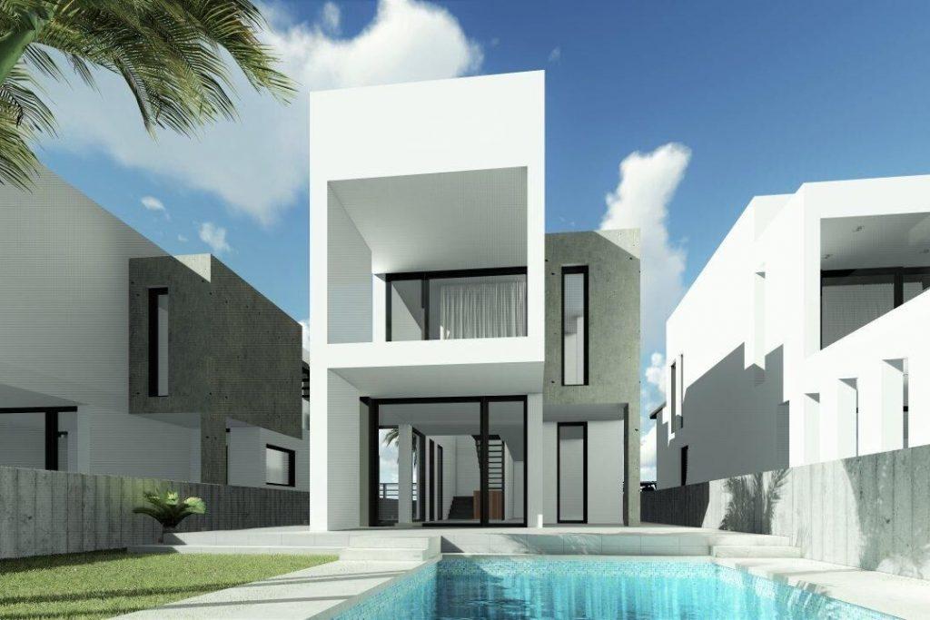 Villa in Hi Tech style