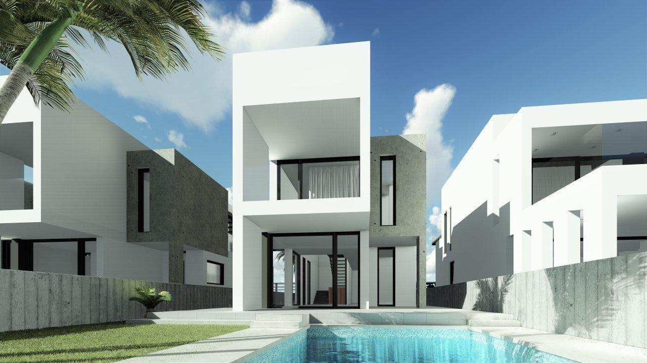 Villa in Hi Tech style with privat pool in El Pinet Alicante