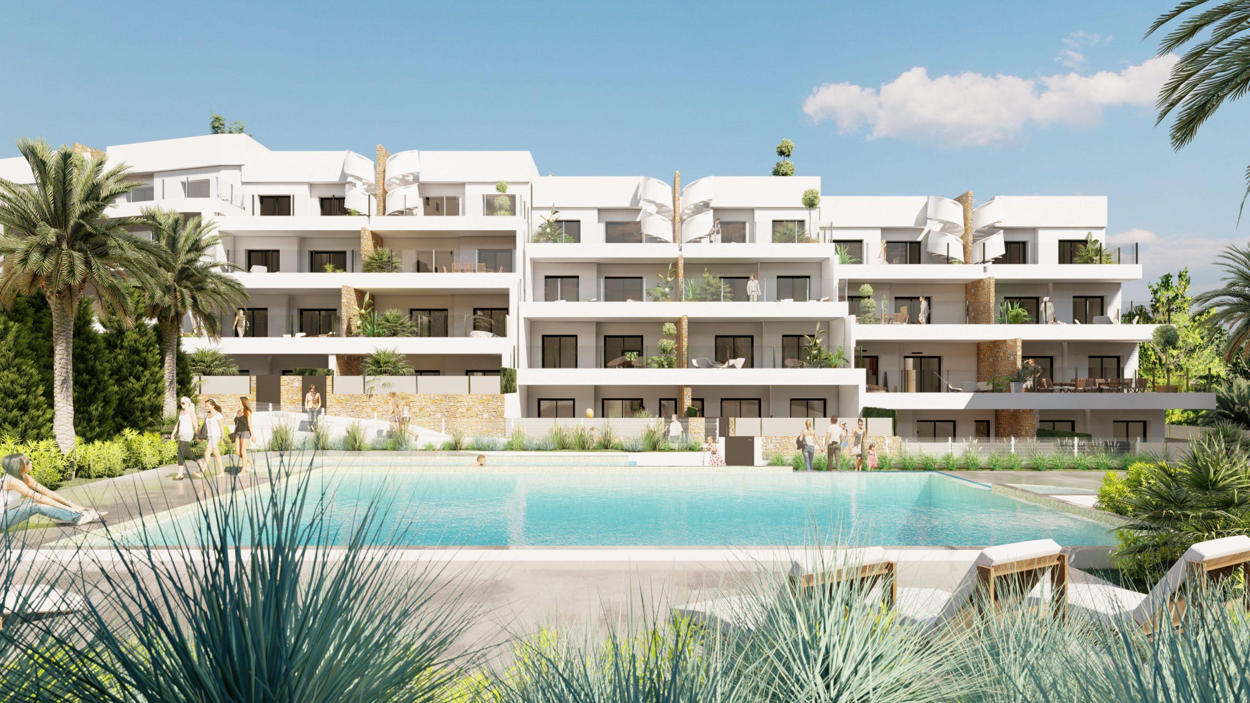 Modernos apartamentos con amplia terraza, Villamartin, Orihuela Costa