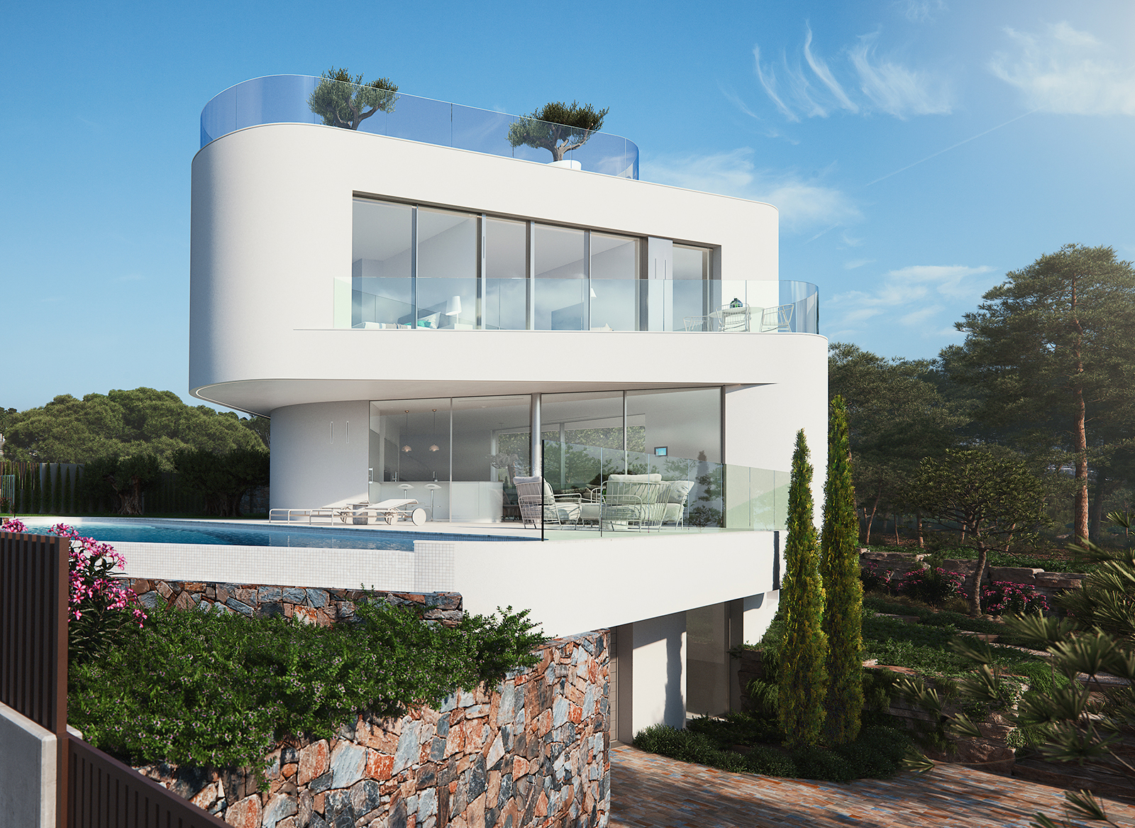 Unique villa for sale in Finestrat Benidorm