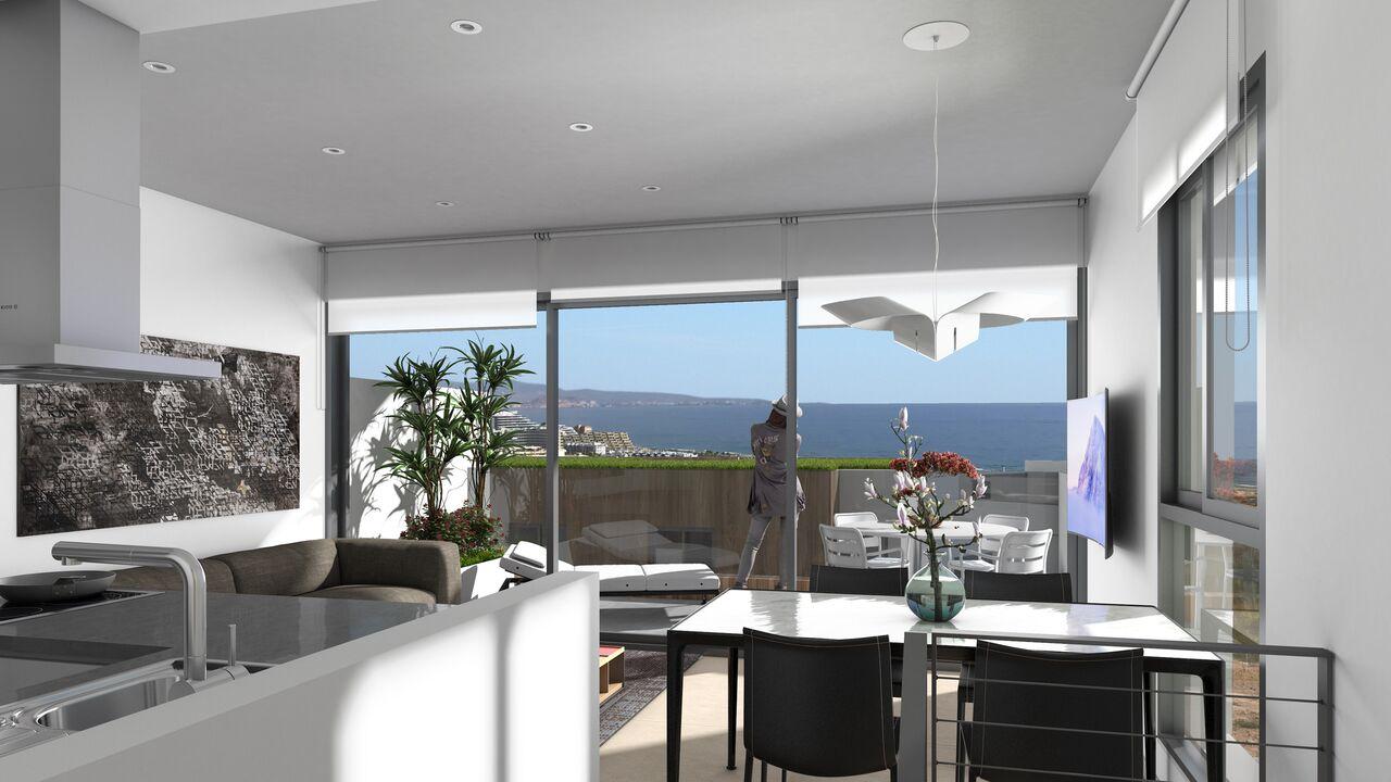 Квартиры для продажи с прекрасным видом в Аликанте
