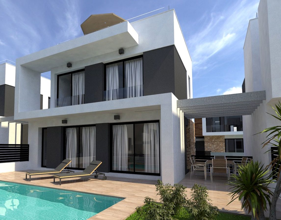 New villas for sale on the south coast of Spain, Cabo Roig