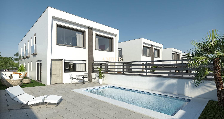 Corner duplex house for sale in Gran Alacant