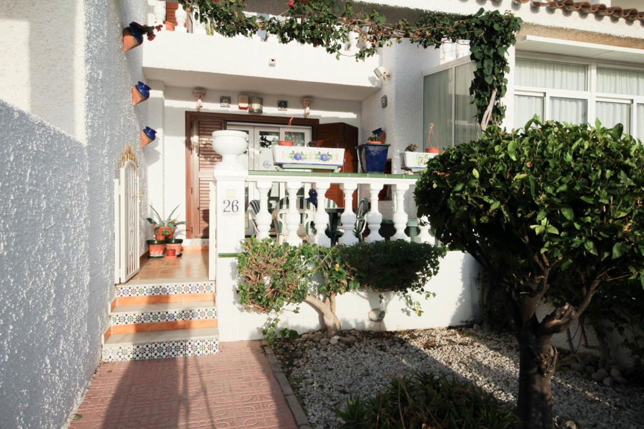 Townhouse with sea views for sale in Punta Prima