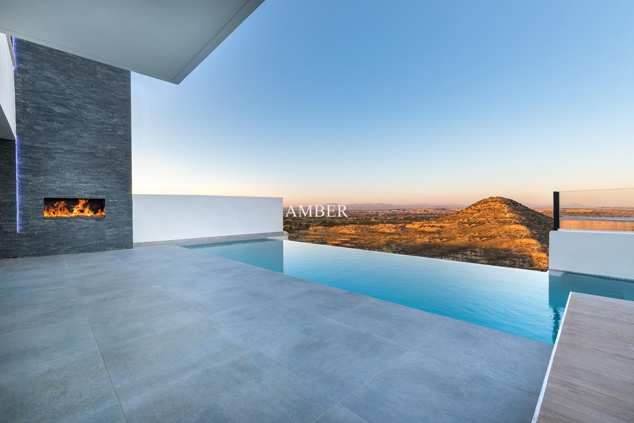 Villas with with stunning views, Rojales, Alicante