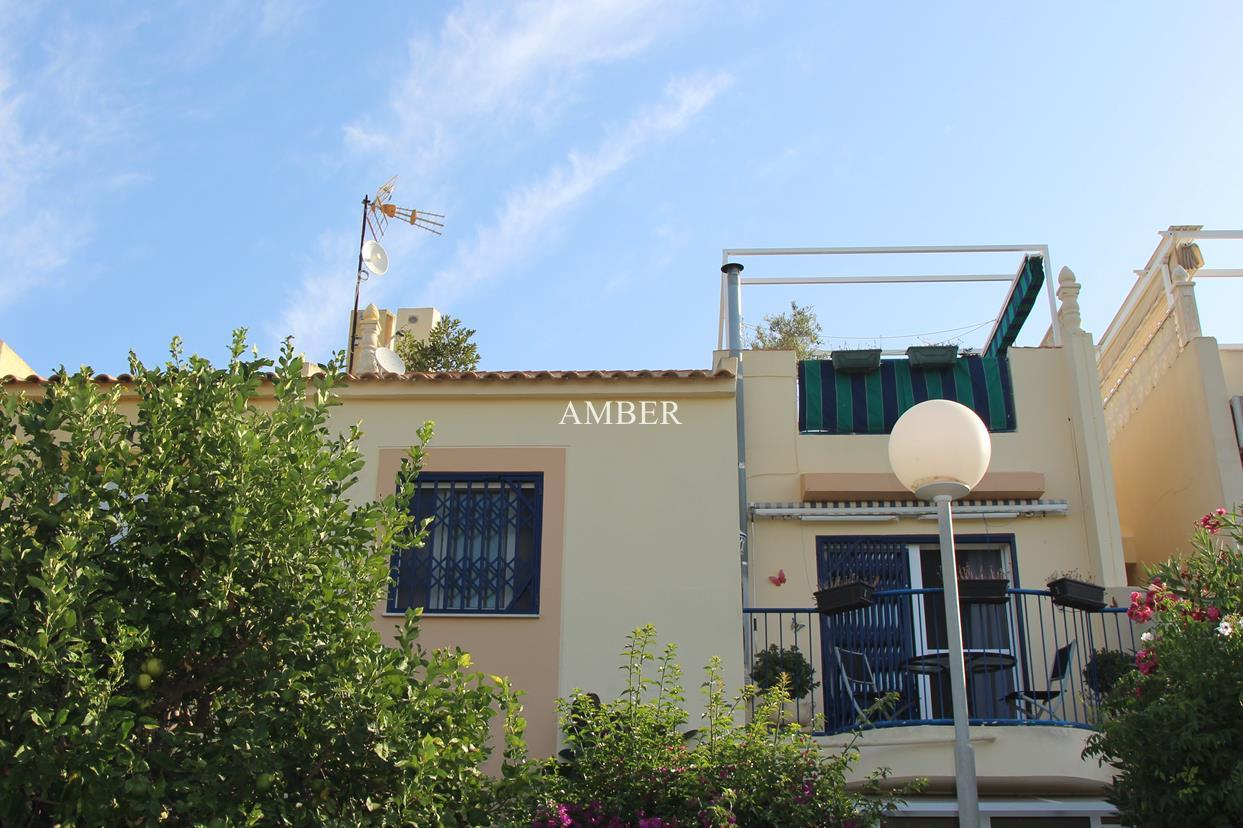 Top Floor Bungalow with views to natural park of La Mata and lake