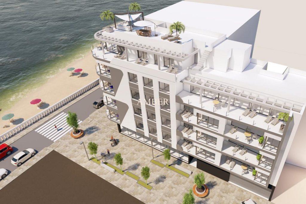 Beachfront new modern apartments