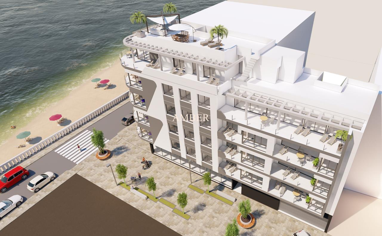 Beachfront new modern apartments, Playa del Cura, Torrevieja