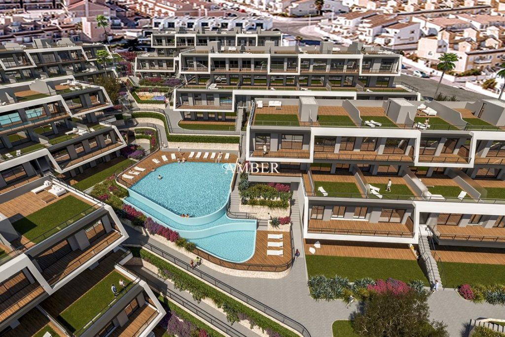 New apartments with sea view Gran Alacant
