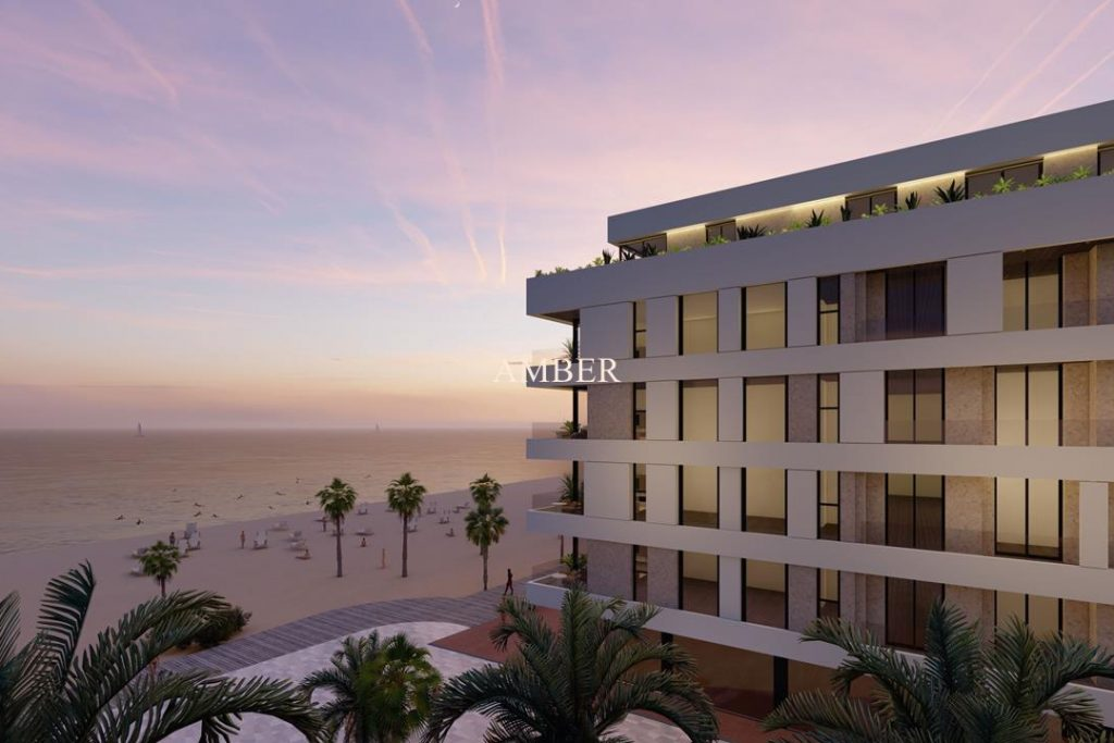 Sea front apartments